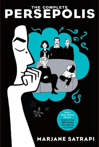 Cover of Persepolis (Pantheon, 2007); image courtesy of shelflove.wordpress.com