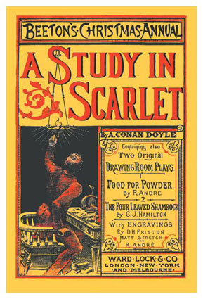 A Study in Scarlet., by A. Conan Doyle.