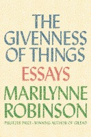 The Givenness of Things Cover